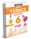6.Sınıf Akıllı Türkçe Defteri Türkçemino Arı Yayınları