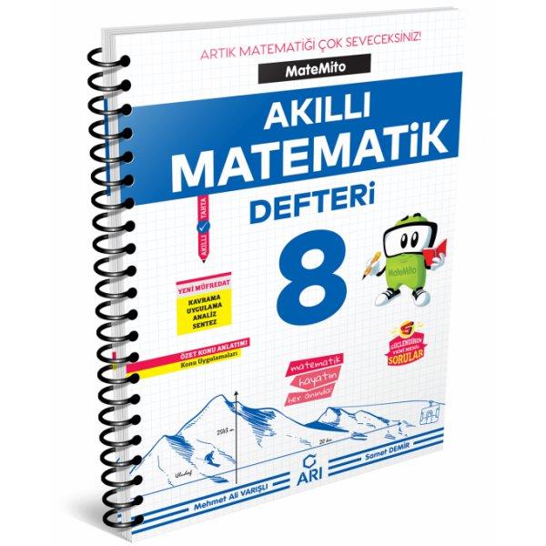 8. Sınıf LGS Akıllı Matematik Defteri Matemito Arı Yayınları