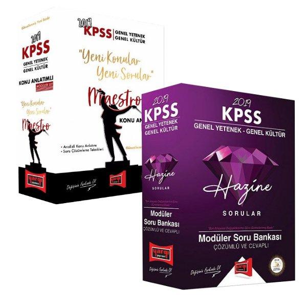 2019 KPSS Genel Yetenek Genel Kültür Kampı Modüler Konu ve Soru İkilisi Yargı Yayınları