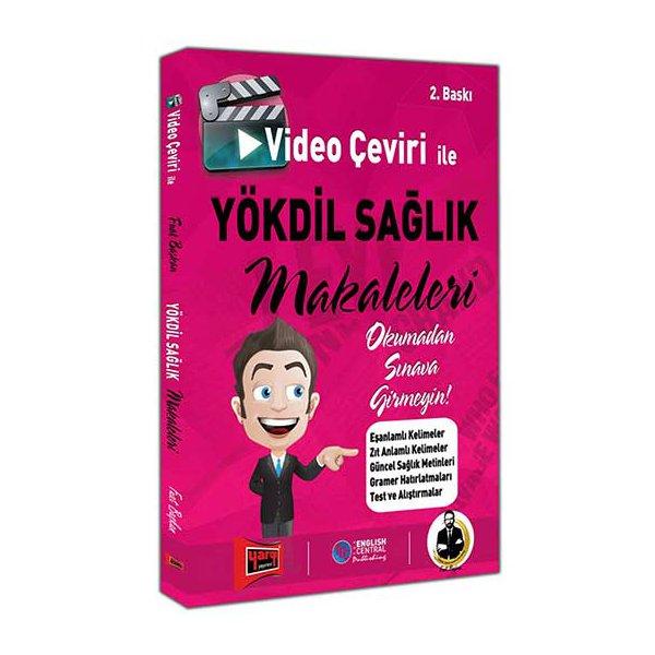 Yargı Yayınları Video Çeviri İle YÖKDİL SAĞLIK Makaleleri 2. Baskı