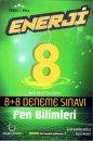 8. Sınıf LGS Fen Bilimleri Enerji 8 Artı 8 Deneme Sınavı Palme Yayınevi