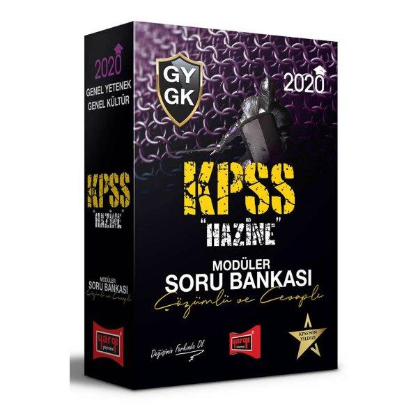 2020 KPSS Genel Yetenek Genel Kültür HAZİNE Çözümlü ve Cevaplı Modüler Soru Bankası Seti Yargı Yayınları