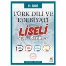 11.Sınıf Türk Dili ve Edebiyatı Liseli Soru Bankası Delta Kültür Yayınları