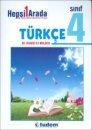 Tudem 4. Sınıf Türkçe Hepsi Bir Arada Tudem Yayınları