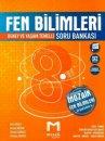 8. Sınıf LGS Fen Bilimleri Soru Bankası Mozaik Yayınları
