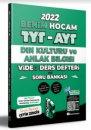 2022 TYT  AYT Din Kültürü Video Ders Defteri ve Soru Bankası Benim Hocam Yayınları