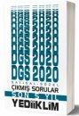 2020 DGS Sayısal Sözel Bölüm Son 5 Yıl Çıkmış Sorular Yediiklim Yayınları