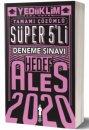 2020 ALES Tamamı Çözümlü Süper 5'li Deneme Yediiklim Yayınları