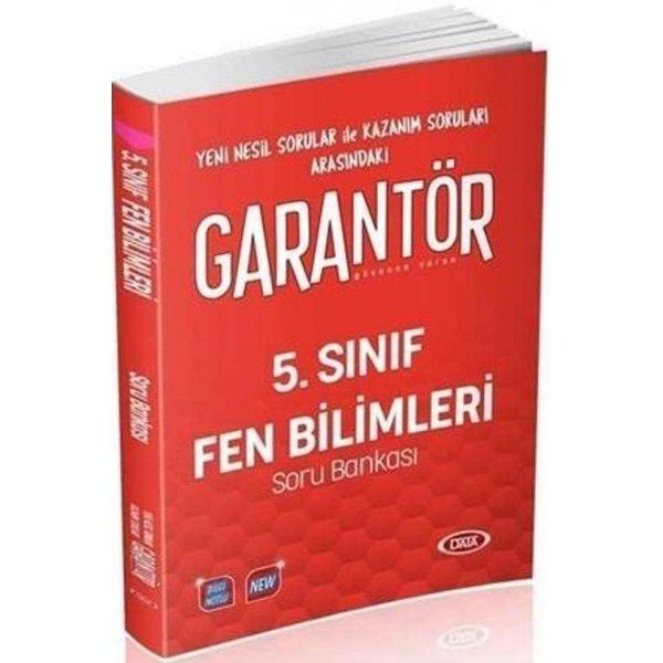 5. Sınıf Fen Bilimleri Garantör Soru Bankası Data Yayınları