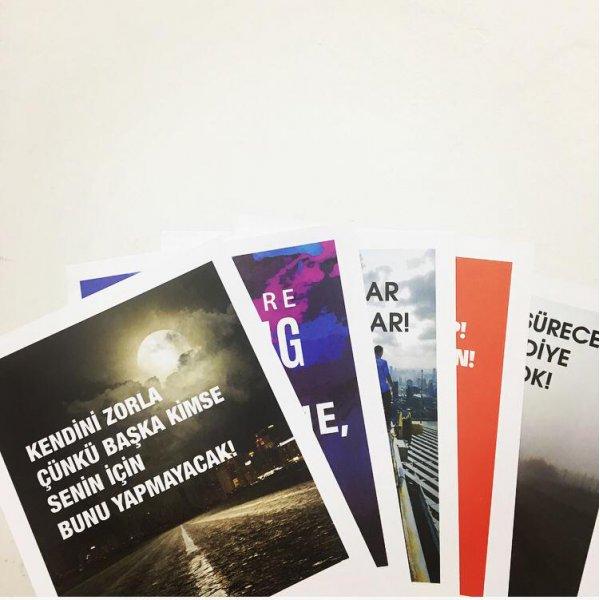 Maksimum Kitap Motivasyon Motto Kartları 5lisi Kargo Ödeyen Ürün