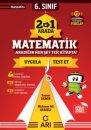 6. Sınıf İkisi Bir Arada Matematik Arı Yayıncılık