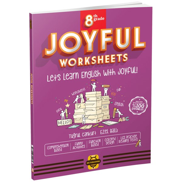 8. Sınıf LGS Joyful Worksheets Bee Publıshıng
