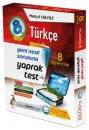 8. Sınıf LGS Türkçe 8 Öğrencilik Kutu Yaprak Test Çanta Yayınları