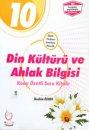 10. Sınıf Din Kültürü ve Ahlak Bilgisi Konu Özetli Soru Kitabı Palme Yayınları