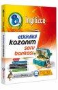 8. Sınıf LGS İngilizce Etkinlikli Kazanım Soru Bankası Çanta Yayınları