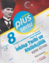 8. Sınıf LGS T. C. İnkılap Tarihi ve Atatürkçülük Konu Kitabı Plus Serisi Palme Yayınları