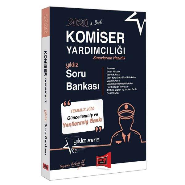 2020 Komiser Yardımcılığı Sınavlarına Hazırlık Soru Bankası Yargı Yayınları