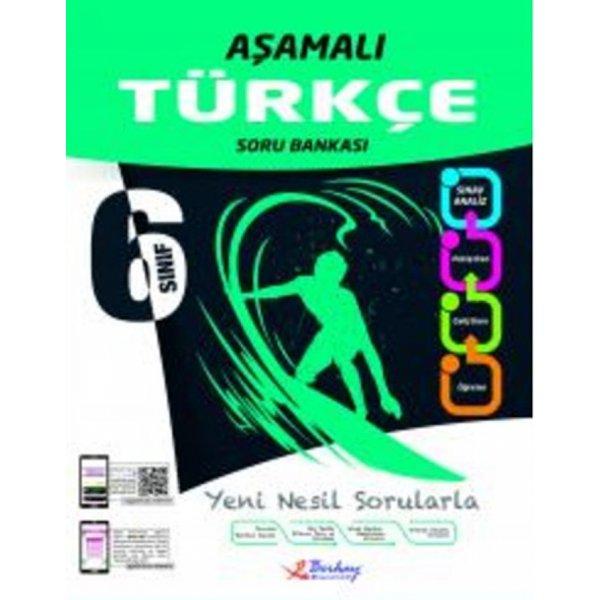 6. Sınıf Türkçe Aşamalı Soru Bankası Berkay Yayıncılık
