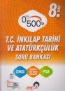 8. Sınıf LGS T.C. İnkılap Tarihi ve Atatürkçülük 0 dan 500 e Soru Bankası Mc2 Yayınları