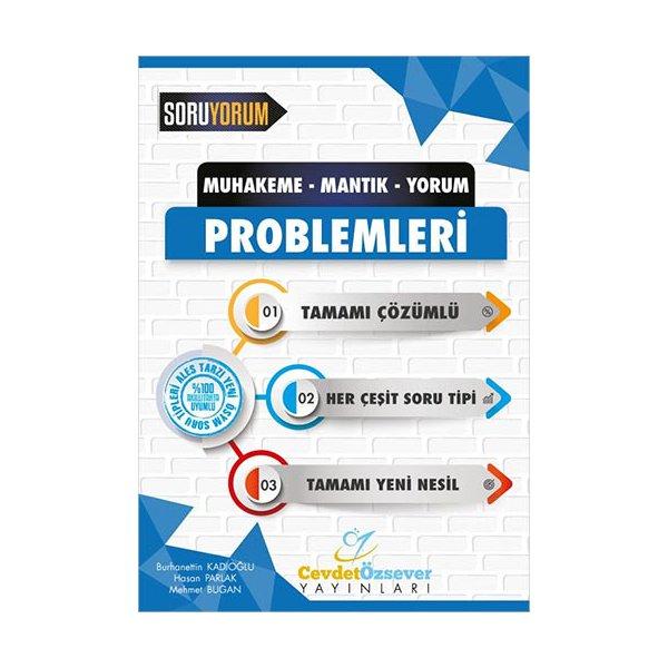 Muhakeme Mantık Yorum Problemleri Tamamı Çözümlü Soru Bankası Cevdet Özsever Yayınları