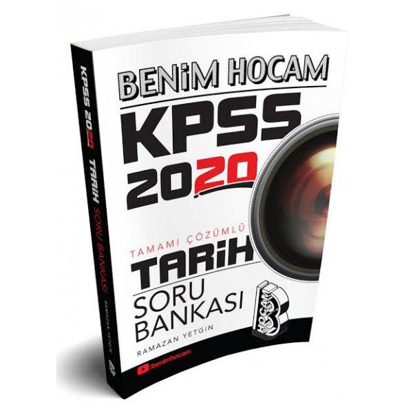 2020 KPSS Tarih Tamamı Çözümlü Soru Bankası Ramazan Yetgin Benim Hocam Yayınları