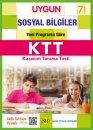 7. Sınıf Sosyal Bilgiler Kazanım Tarama Testi Sadık Uygun Yayınları