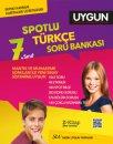 7. Sınıf Türkçe Spotlu Soru Bankası Sadık Uygun Yayınları