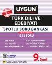 9. Sınıf Türk Dili ve Edebiyatı Spotlu Soru Bankası Sadık Uygun Yayınları