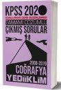 2020 KPSS Genel Kültür Coğrafya Tamamı Çözümlü Konularına Göre Çıkmış Sorular Yediiklim Yayınları