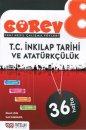 Nitelik Yayınları 8. Sınıf Görev T.C. İnkılap Tarihi ve Atatürkçülük Soru Bankası