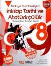 Nitelik Yayınları 8. Sınıf LGS T.C. İnkılap Tarihi ve Atatürkçülük Konu Anlatım Kitabı