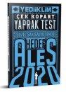 2020 ALES Sayısal Sözel Yetenek Çek Kopart Yaprak Test Yediiklim Yayınları