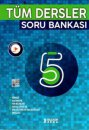 5. Sınıf Tüm Dersler Soru Bankası İşleyen Zeka Yayınları