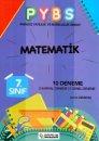 7. Sınıf Matematik PYBS 10 Deneme Branş Akademi