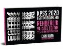 2020 KPSS Eğitim Bilimleri Rehberlik ve Özel Eğitim Video Ders Notları Can Köni Benim Hocam Yayınları