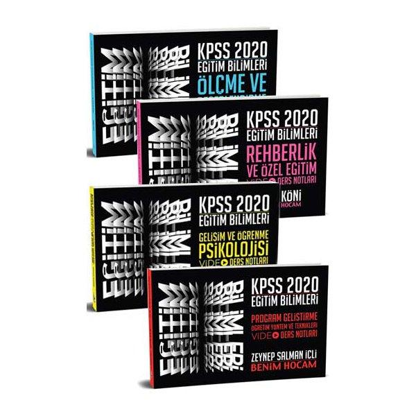 2020 KPSS Eğitim Bilimleri Video Ders Notları Seti Benim Hocam Yayınları