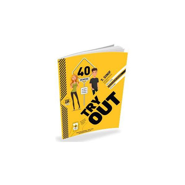 7. Sınıf İngilizce Try Out 40 Deneme Speed Up Publishıng