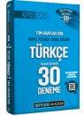 2020 KPSS Genel Yetenek Türkçe 30 Deneme Pegem Yayınları