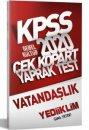 2020 KPSS Genel Kültür Vatandaşlık Yaprak Test Yediiklim Yayınları