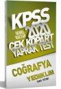 2020 KPSS Genel Kültür Coğrafya Yaprak Test Yediiklim Yayınları