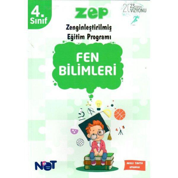 4. Sınıf Fen Bilimleri ZEP BiNot Yayınları