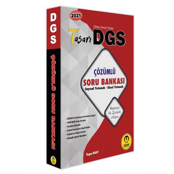 2021 DGS Matematik Türkçe  Çözümlü Soru Bankası Tasarı Yayınları