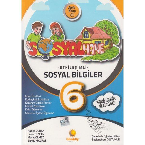 6. Sınıf Sosyal Bilgiler Etkileşimli Sosyalhane Günay Yayınları