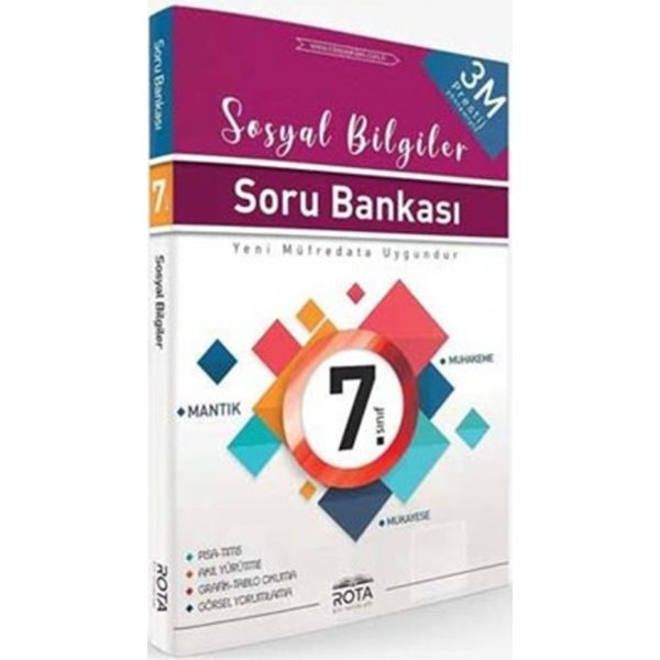 7. Sınıf Sosyal Bilgiler Soru Bankası Rota Yayınları