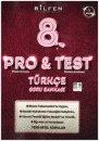 8.Sınıf LGS Pro Test Türkçe Yeni Nesil Soru Bankası Bilfen Yayınları