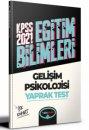 2021 KPSS Eğitim Bilimleri Gelişim Psikolojisi Çek Kopar Yaprak Test Yediiklim Yayınları