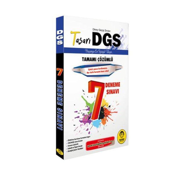 2020 DGS Çözümlü 7 Deneme Tasarı Yayınları