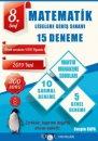 8. Sınıf LGS Matematik 15 Deneme İdol Yayınları