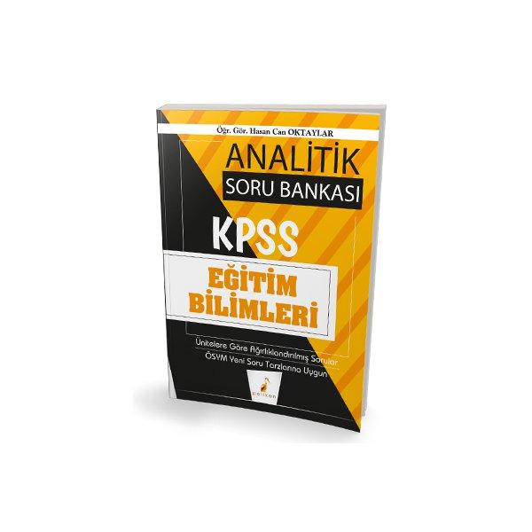 2020 KPSS Eğitim Bilimleri Analitik Soru Bankası Pelikan Yayınları