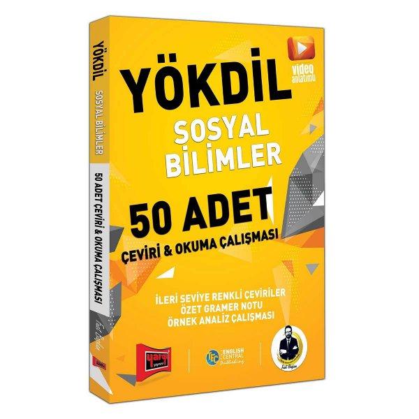 YÖKDİL Sosyal Bilimler 50 Adet Çeviri ve Okul Çalışması Yargı Yayınları